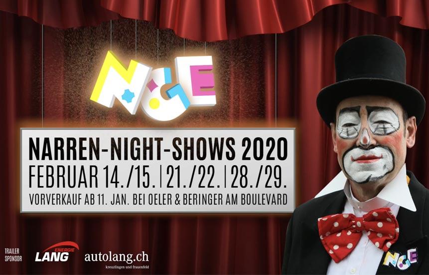 narren night show 2020